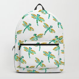 Dragonfly - Green Palette Backpack