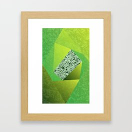 Twirl-220116b Framed Art Print