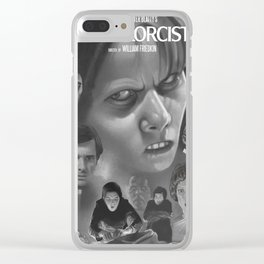 The Exorcist (1974) Clear iPhone Case
