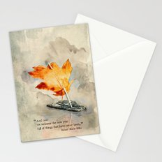 Welcome the New Year Stationery Cards