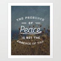 Presence of Peace Art Print