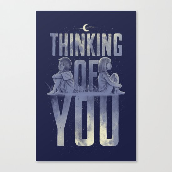 'Thinking of You' Canvas Print