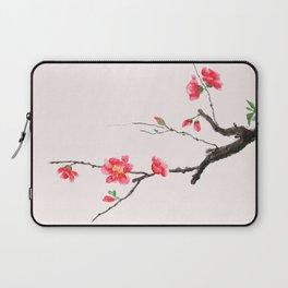 red Japan begonia Laptop Sleeve