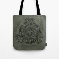 warcraft Tote Bags featuring Storm of Swords by Plan 9 Design