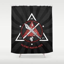 Filipino Martial Arts, Kali - Eskrima - Arnis, FMA Shower Curtain