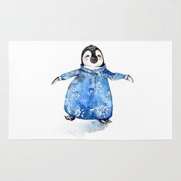 Baby Penguin in Onsie Rug