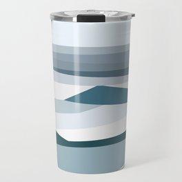Geometric Bondi beach, Sydney Travel Mug