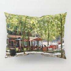 Street Cafes Pillow Sham