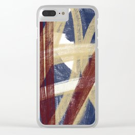 ABSTRACT DRAWING 12 Clear iPhone Case
