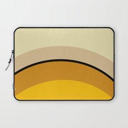 Mid Century Modern 70s Warm Tones Laptop Sleeve