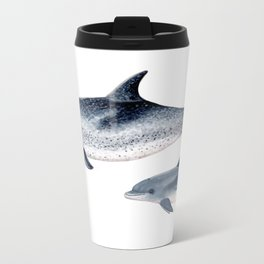Atlantic spotted dolphin Travel Mug