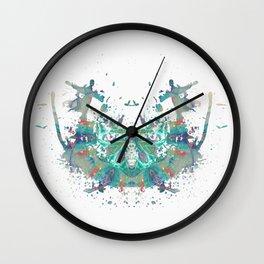 Inkdala XXX - Psychology Art Wall Clock