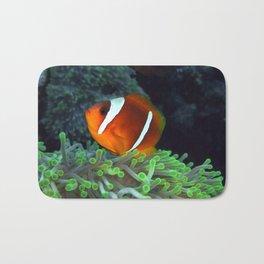 Anemone Fish in Anemone Bath Mat
