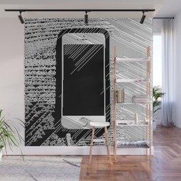 iPhone 5 Wolfram Rule 126 Wall Mural