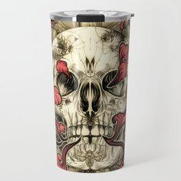Tattooed Skull Travel Mug
