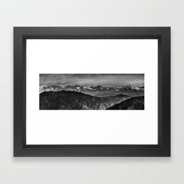 Himalayan Panorama Framed Art Print
