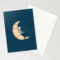 Ze Croissant Moon Stationery Cards