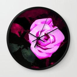 Mystic rose  Wall Clock