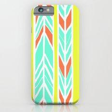 Stripes: Burnt Umber & Friends iPhone 6s Slim Case