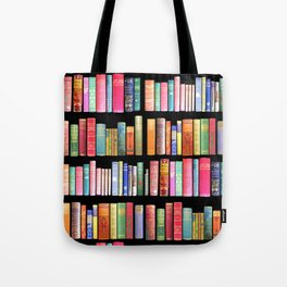 Vintage Book Library for Bibliophile Tote Bag