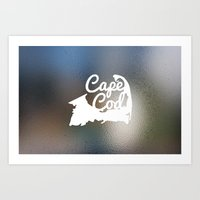 cape cod Art Prints featuring Cape Cod by Andrew Spencer