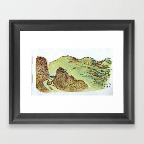 To Oaxaca Framed Art Print
