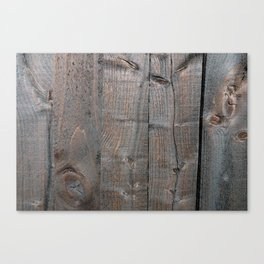 Brown Wood Panels Canvas Print