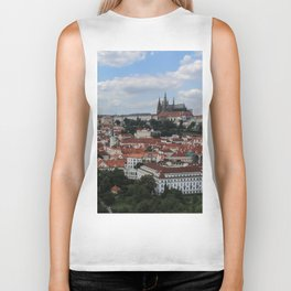 Prague CityScape Biker Tank