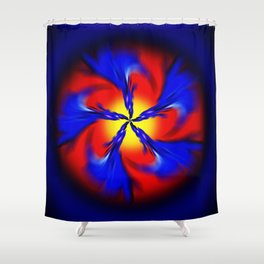 Abstract Perfection 34 Shower Curtain