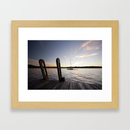 Cottage Feelings. Framed Art Print