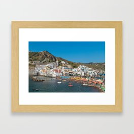 Sant' Angelo, Ischia Framed Art Print