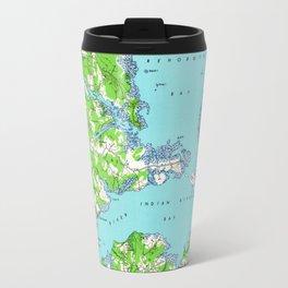Vintage Rehoboth & Bethany Beach DE Map (1938) Travel Mug