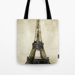 Paris Flea Market Tote Bag