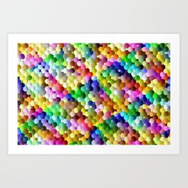 Relax with  colors 1 ... Art Print