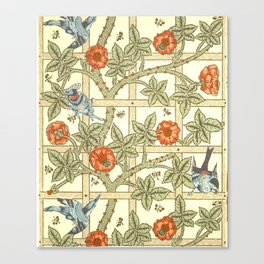 "William Morris ""Trellis"" Canvas Print"