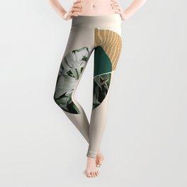 Tropical & Geometry Leggings