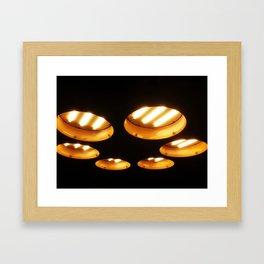 UFO Engines Framed Art Print