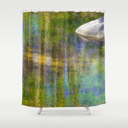 Reflections in Color Creek Shower Curtain