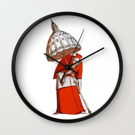 The Covering of God Wall Clock