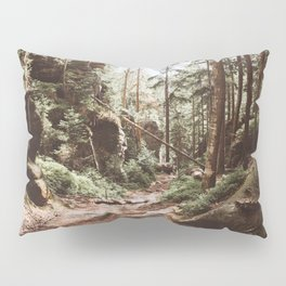 Wild summer - Landscape and Nature Photography Pillow Sham