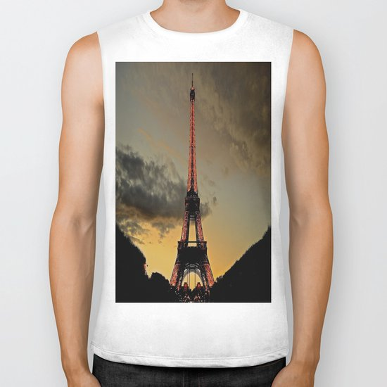 Tower Sunset Biker Tank