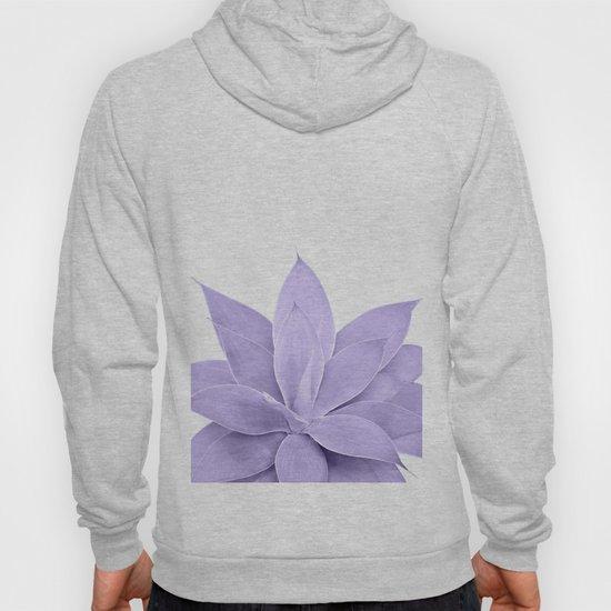 Ultra Violet Agave on White #1 #tropical #decor #art #society6 by anitabellajantz