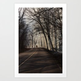 On Assignment: Controled Burn Color Art Print
