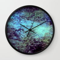 cosmic Wall Clocks featuring Cosmic by Kimsey Price