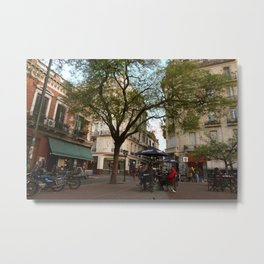 Best table in the city Metal Print