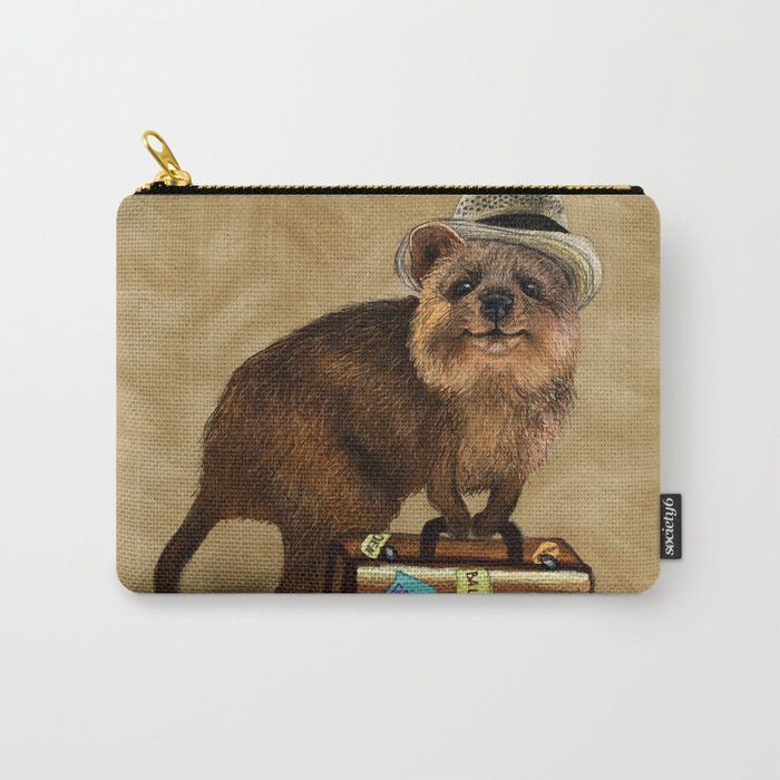 Traveller // quokka Carry-All Pouch
