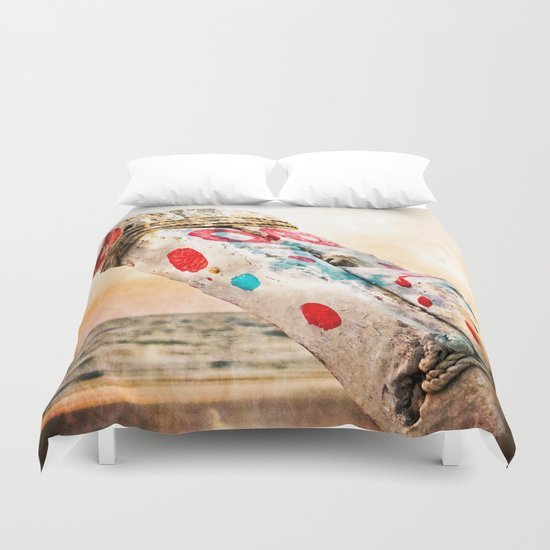 Fishing Boat Hull (Goa) Duvet Cover