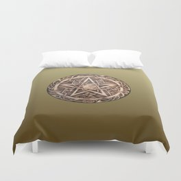 Brigid's Pentacle Duvet Cover