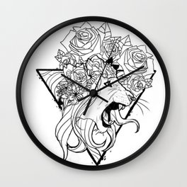 Do Not Fear the Sheep Wall Clock