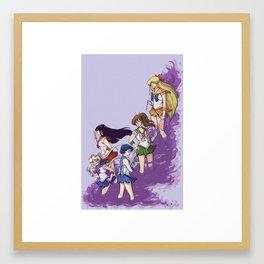 senshi Framed Art Print